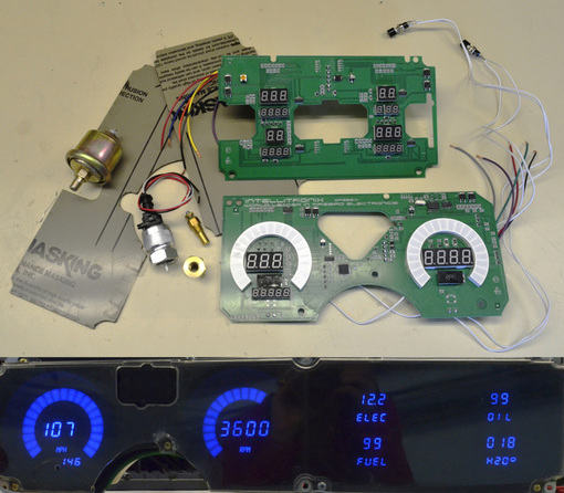 intellitronix firebird digital dash egaugesplus intellitronix firebird led digital dash