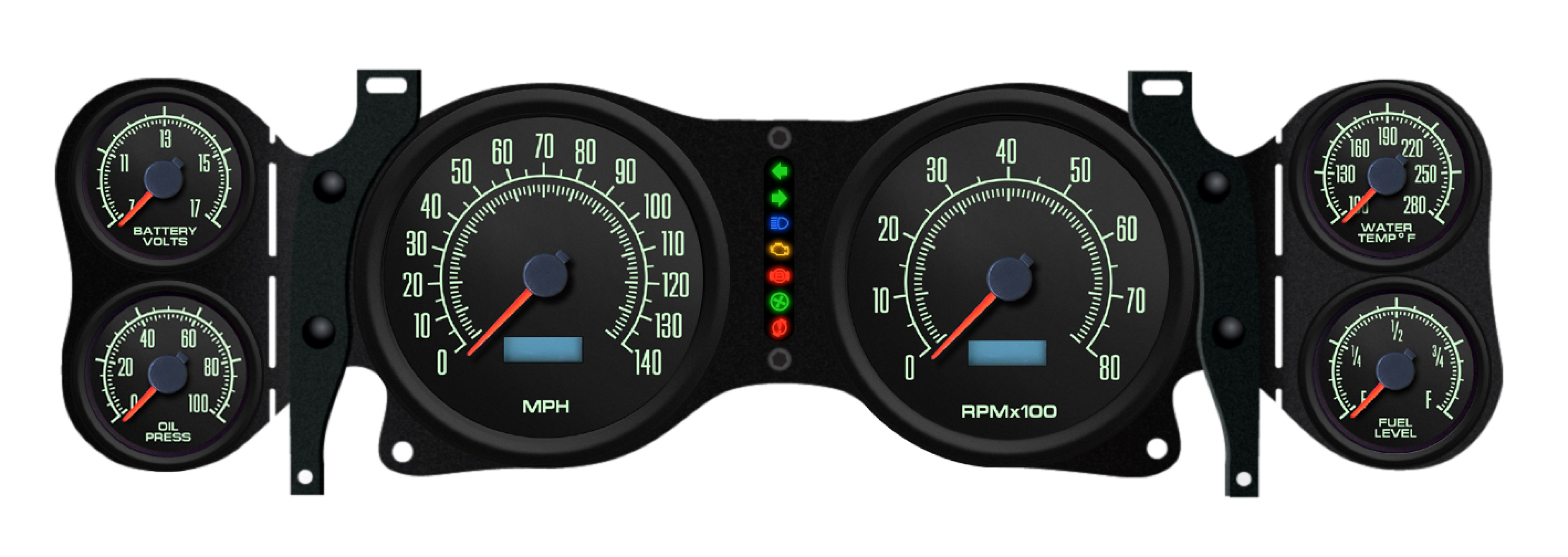 1970 1978 Camaro Gauge Package Egaugesplus