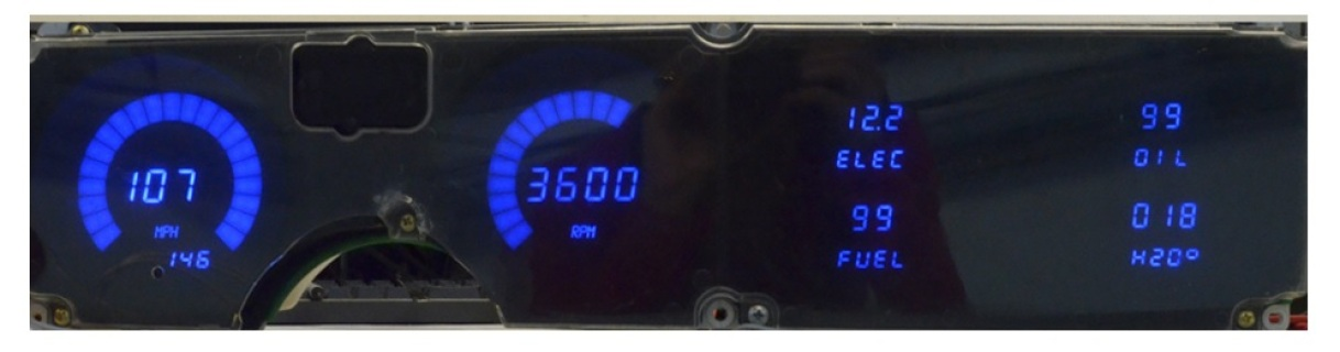 intellitronix firebird digital dash egaugesplus firebird led digital dash dp3001b