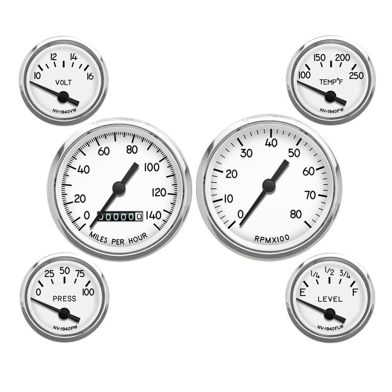 new vintage 1940 miitary style gauges egaugesplus