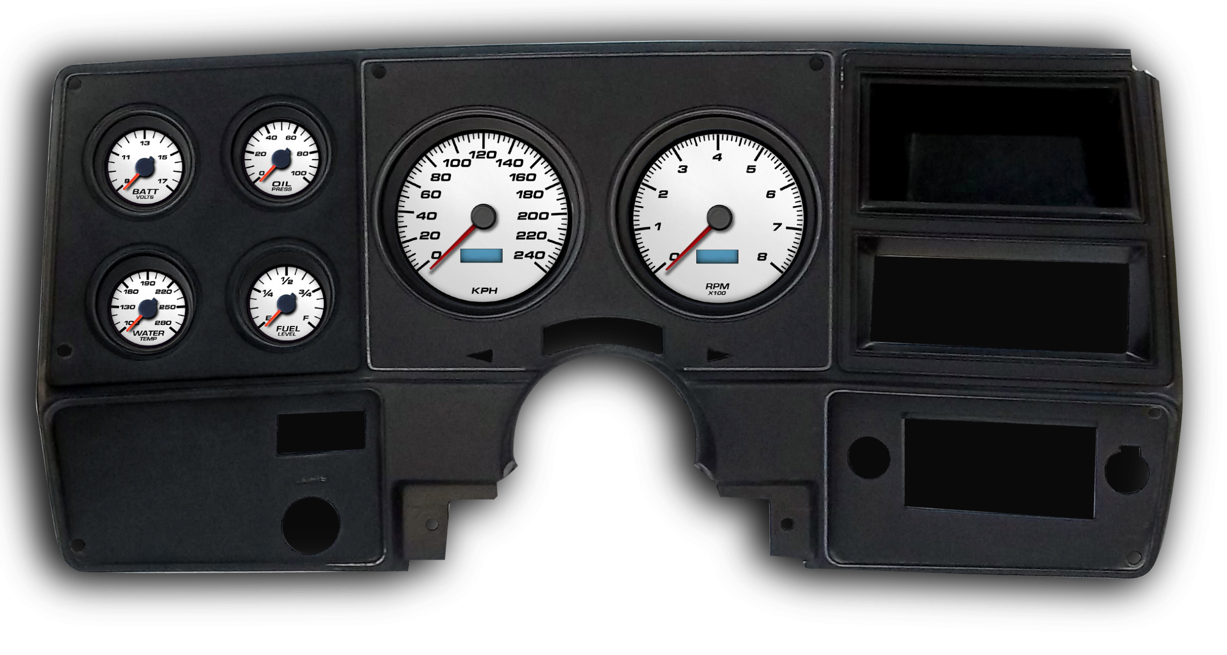 s689572963557007764_p2310_i1_w1280 1973 1987 chevrolet truck direct fit dash packages egaugesplus Autometer Gauge Brackets at fashall.co
