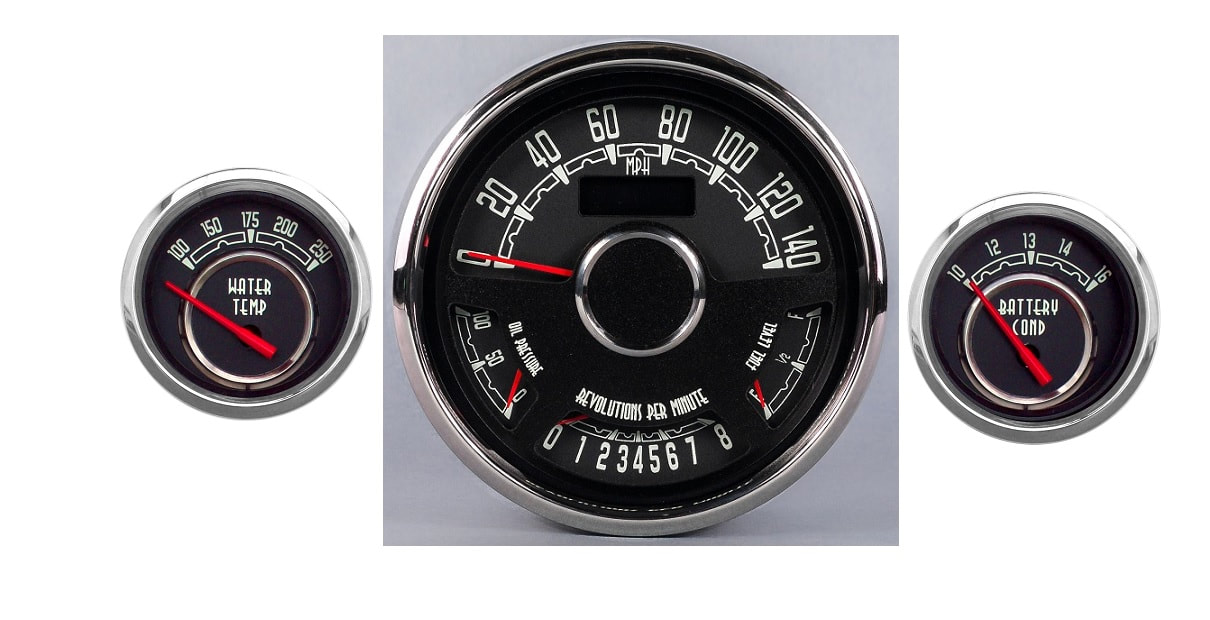 New Vintage WoodWard and 1935 Sreies Gauges - egaugesplus on