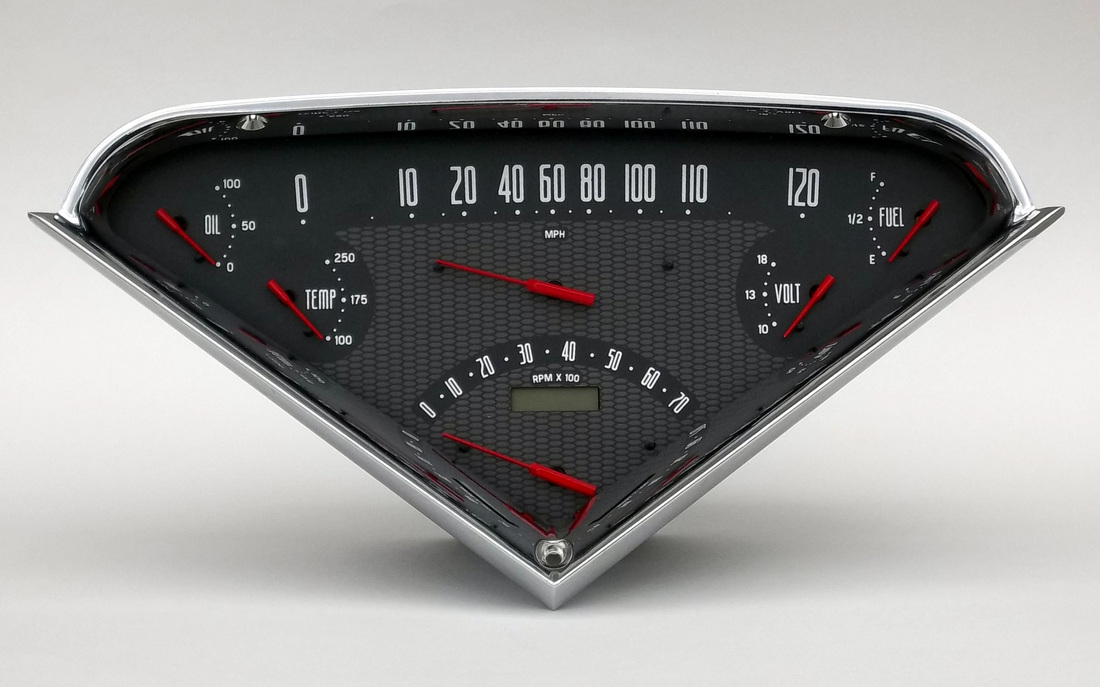 1955 1959 Chevrolet Truck Direct Fit Gauge Package