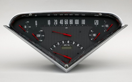 1955-1959 Chevrolet Truck Direct Fit Gauge Package